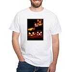 Halloween Tricks and Treats White T-Shirt
