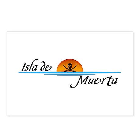 Isla de Muerta Postcards (Package of 8)