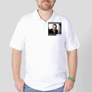 Obama Over WhiteHouse Golf Shirt