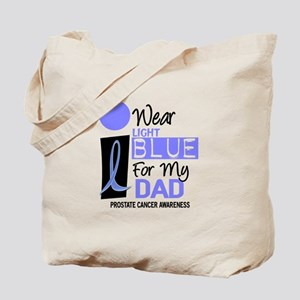 I Wear Light Blue For My Dad 9 Tote Bag