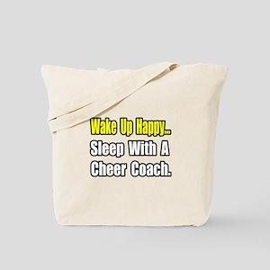 """..Sleep w/ Cheer Coach"" Tote Bag"