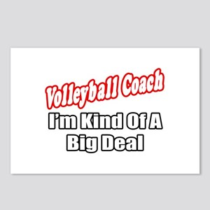 """Volleyball Coach..Big Deal"" Postcards (Package of"