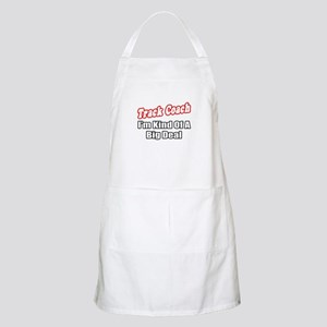 """Track Coach...Big Deal"" BBQ Apron"