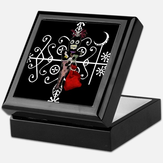 Voodoo Doll Keepsake Box