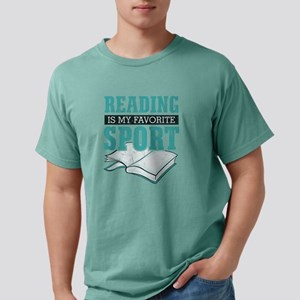 Reading Is My Favorite Sport Light Blue T-Shirt