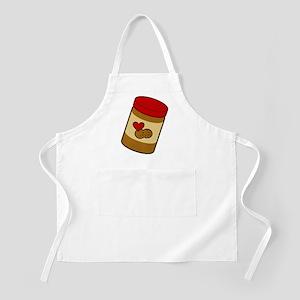 Jar of Peanut Butter BBQ Apron