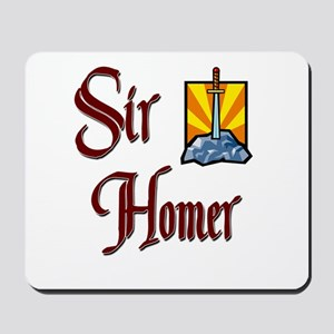 Sir Homer Mousepad