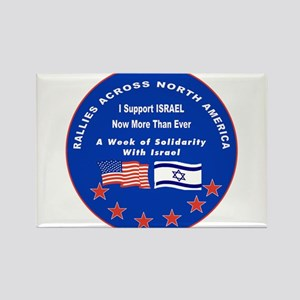 Support Israel Rectangle Magnet