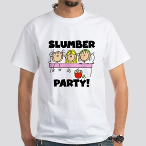 Slumber Party White T-Shirt