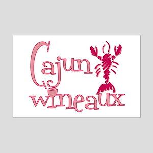 Cajun Wineaux crawfish Mini Poster Print