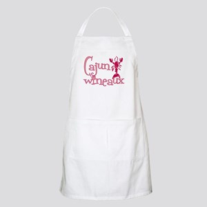Cajun Wineaux crawfish BBQ Apron