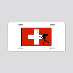 SWISS Aluminum License Plate