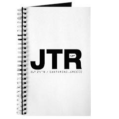 Santorini Airport Greece JTR Black Des. Journal