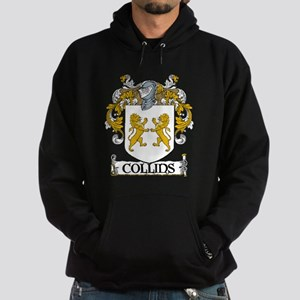 Collins Coat of Arms Hoodie (dark)