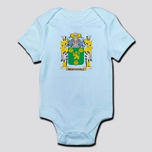 Mcrannall Coat of Arms - Family Crest Body Suit