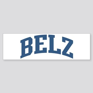 Belz Collegiate Style Name Bumper Sticker