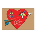 The OES Star and the Mason Postcards (Package of 8