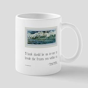 Kafka on Books Mug