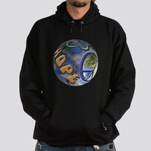 Peace Love Hope Hoodie (dark)
