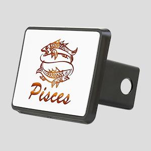 Bronze Pisces Rectangular Hitch Cover