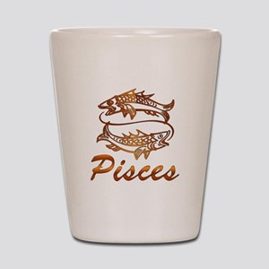 Bronze Pisces Shot Glass