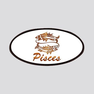 Bronze Pisces Patch