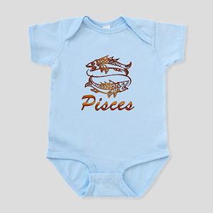 Bronze Pisces Baby Light Bodysuit