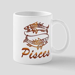 Bronze Pisces 11 oz Ceramic Mug