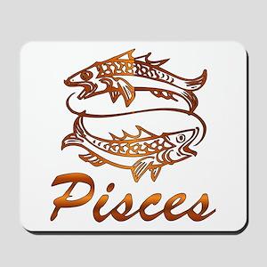 Bronze Pisces Mousepad