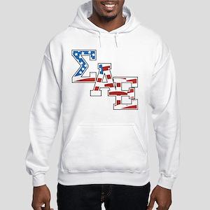 Sigma Alpha Epsilon Stars Hooded Sweatshirt