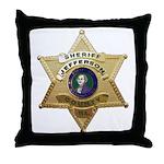 Jefferson County Sheriff Throw Pillow