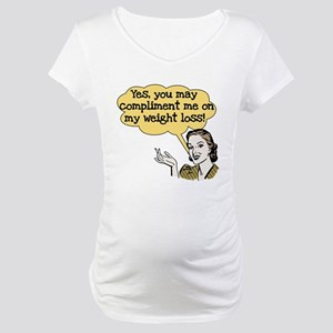 Compliment Weight Loss Maternity T-Shirt