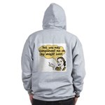 Compliment Weight Loss Zip Hoodie