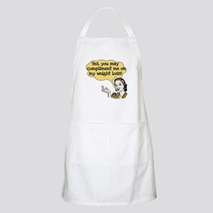 Compliment Weight Loss BBQ Apron