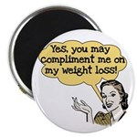 Compliment Weight Loss Magnet