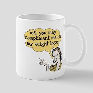 Compliment Weight Loss Mug