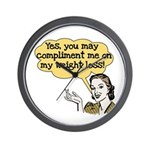 Compliment Weight Loss Wall Clock