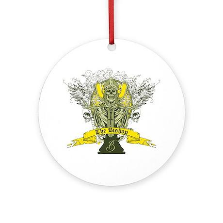 The Bishop Ornament (Round)