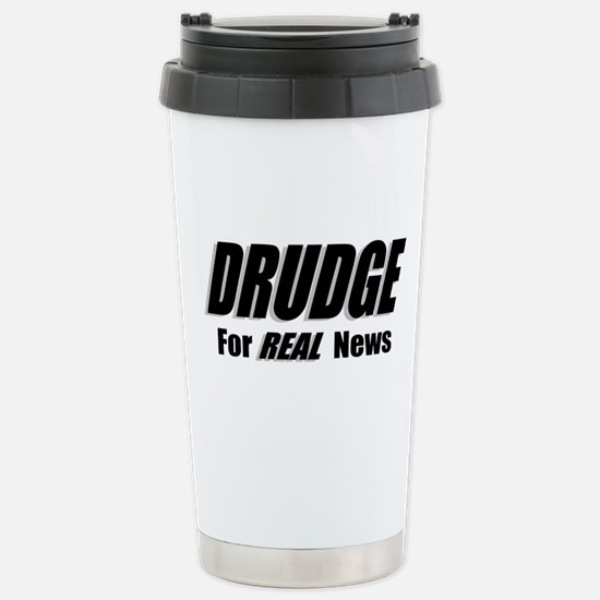 REAL News Stainless Steel Travel Mug