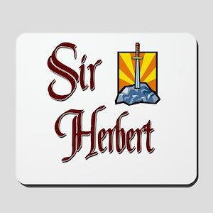 Sir Herbert Mousepad
