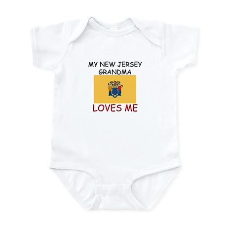 My New Jersey Grandma Loves Me Infant Bodysuit