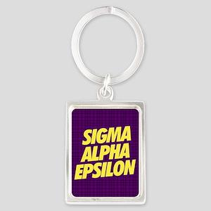 Sigma Alpha Epsilon Keychains