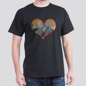 Pigeon Romance Dark T-Shirt