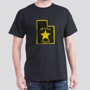 Genola Police Dark T-Shirt