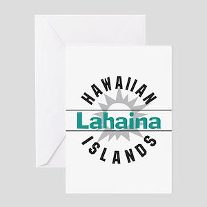 Lahaina Maui Hawaii Greeting Card