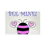 BEE MINE Rectangle Magnet (100 pack)