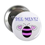 "BEE MINE 2.25"" Button (100 pack)"