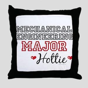 Mech E Major Hottie Throw Pillow