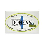 Doheny Surf Spots Rectangle Magnet (100 pack)