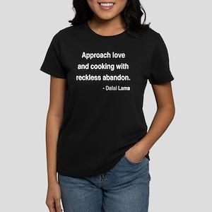 Dalai Lama 10 Women's Dark T-Shirt